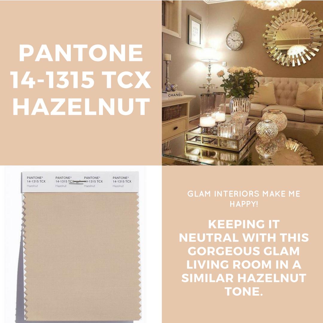 PANTONE HAZELNUT