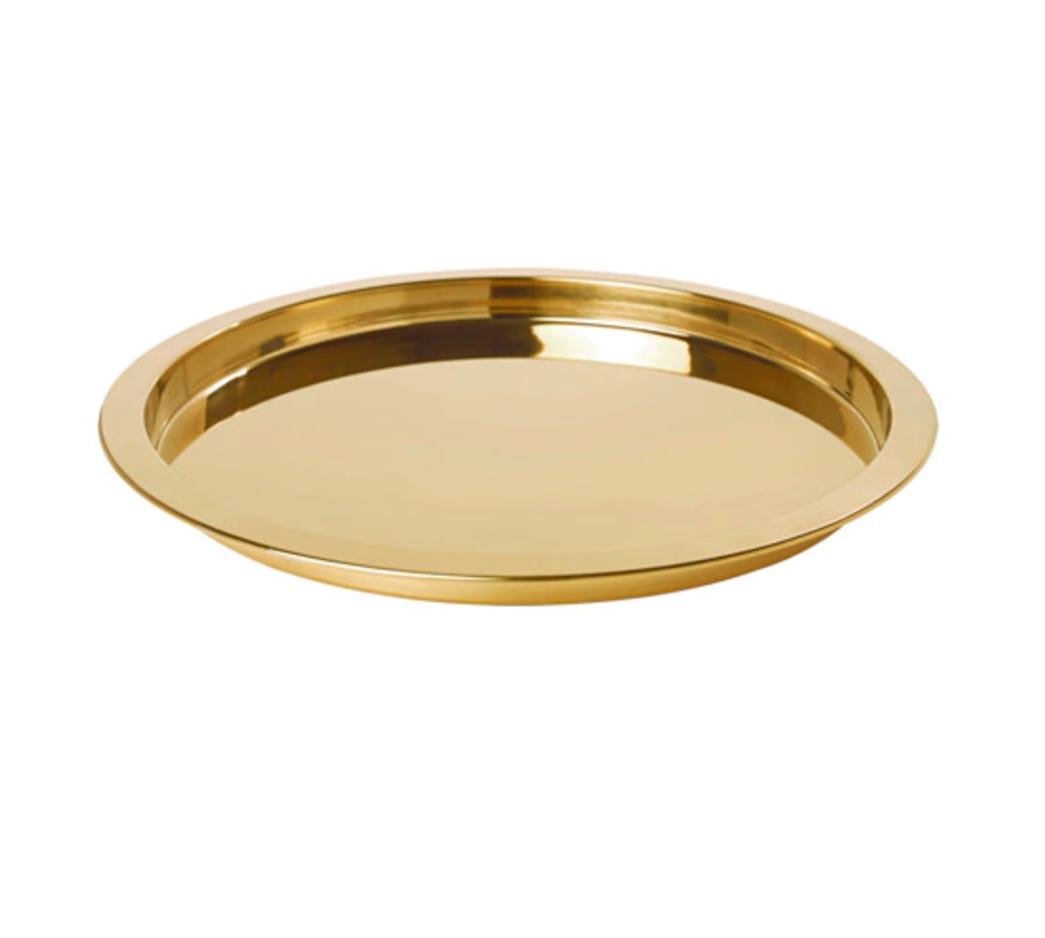 Tray GLATTIS Brass-colour £7.95