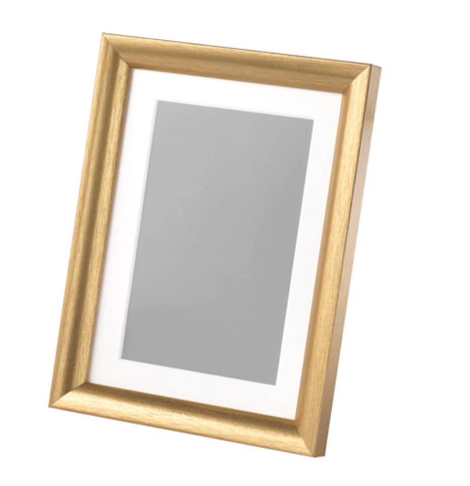Frame SILVERHÖJDEN Gold-colour £2