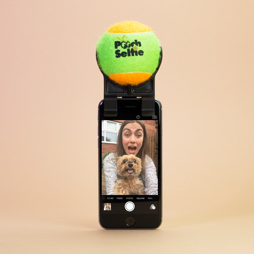 Introducing the POOCH SELFIE! I am actually about to buy this damn thing for myself LOL- maybe I can get a snap with the fur babies. £14.99