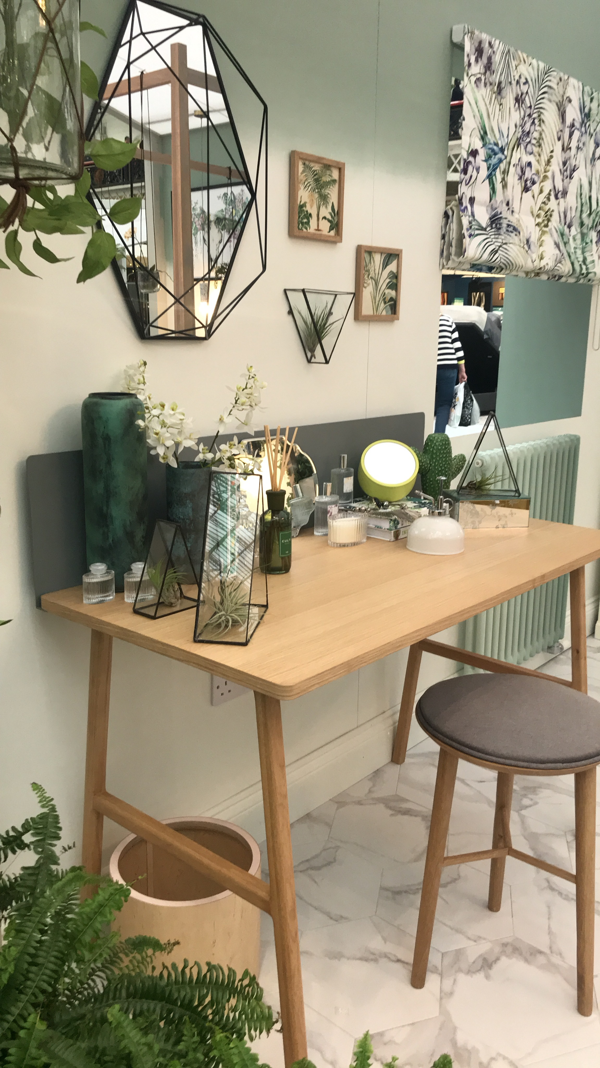 The Good Homes Magazine roomsets at the Ideal Home Show 2018.