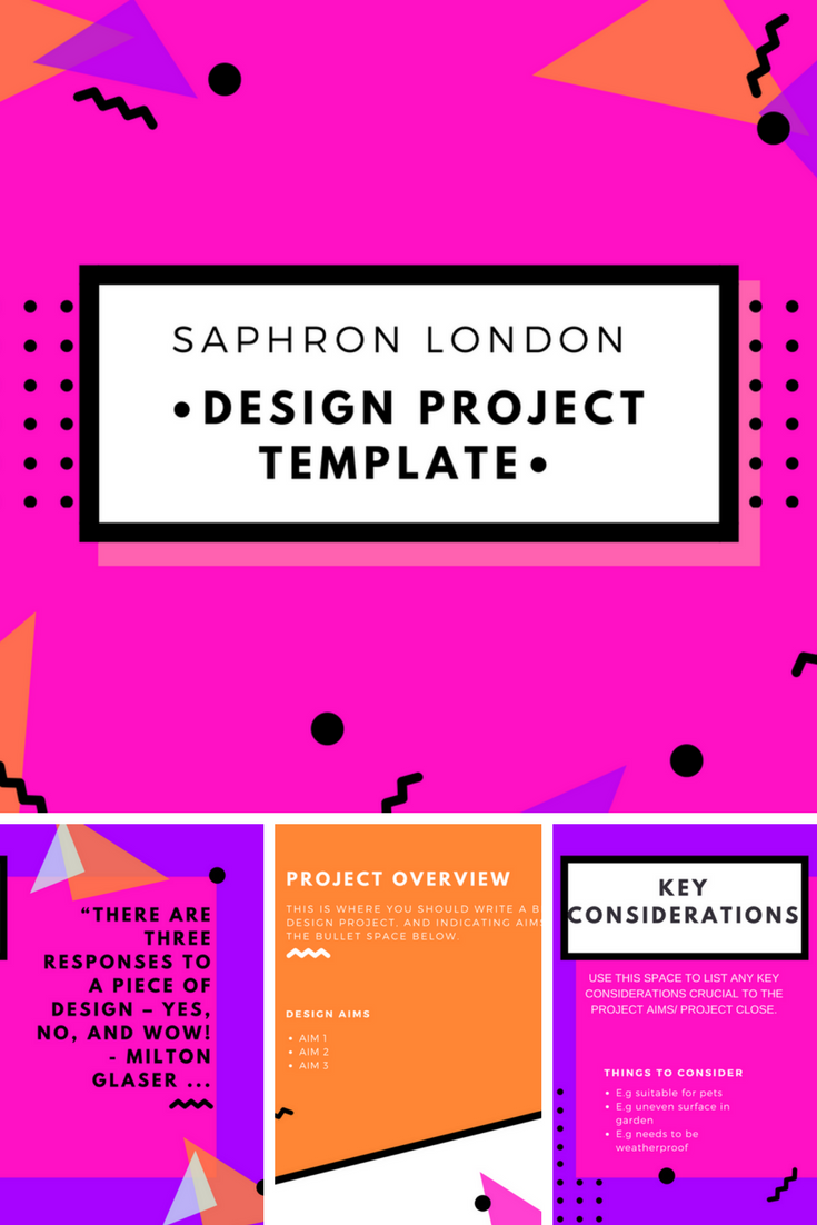 SAPHRON LONDON DESIGN TEMPLATE