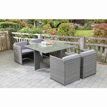 Sorrento Cube Patio Set 5pc  £250.00