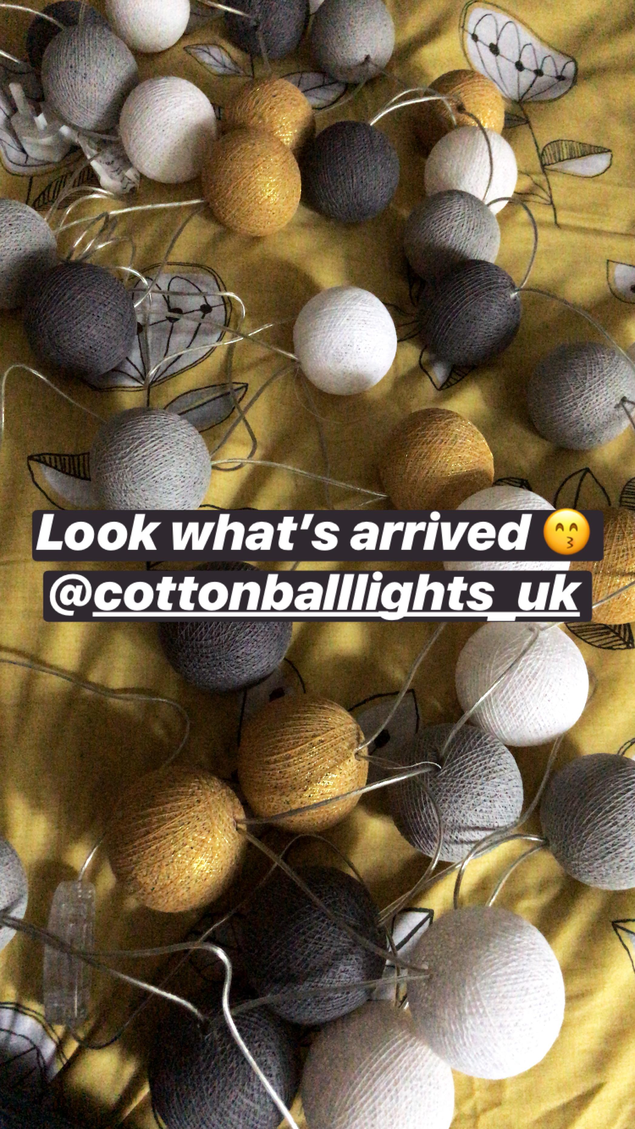 Cottonball Lights UK String Lights