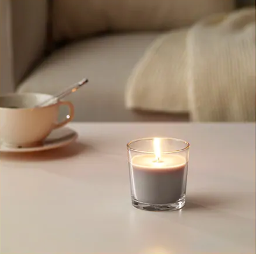 SINNLIG Scented candle in glass | £0.85p