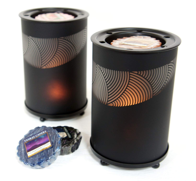Official Yankee Candle Black Sandblast Wax Melt Warmer | £19.99
