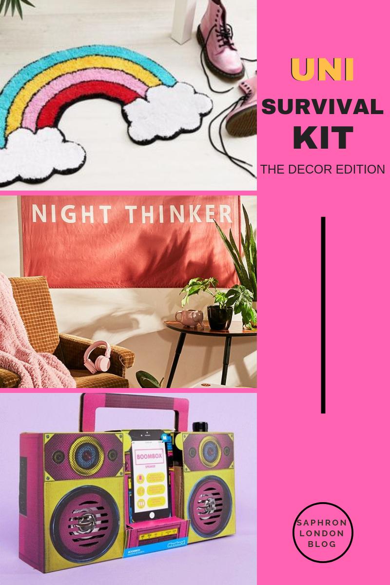 University Survival Kit: The Decor Edition