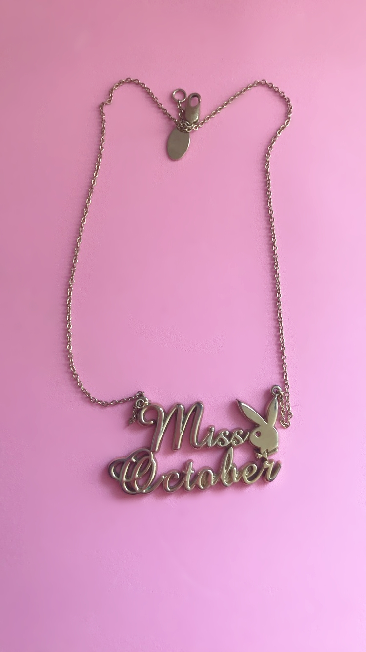 Miss October necklace