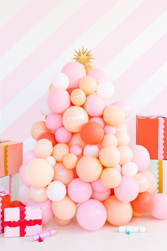 Learn how to make your own balloon tree over at  Sugar & Cloth .