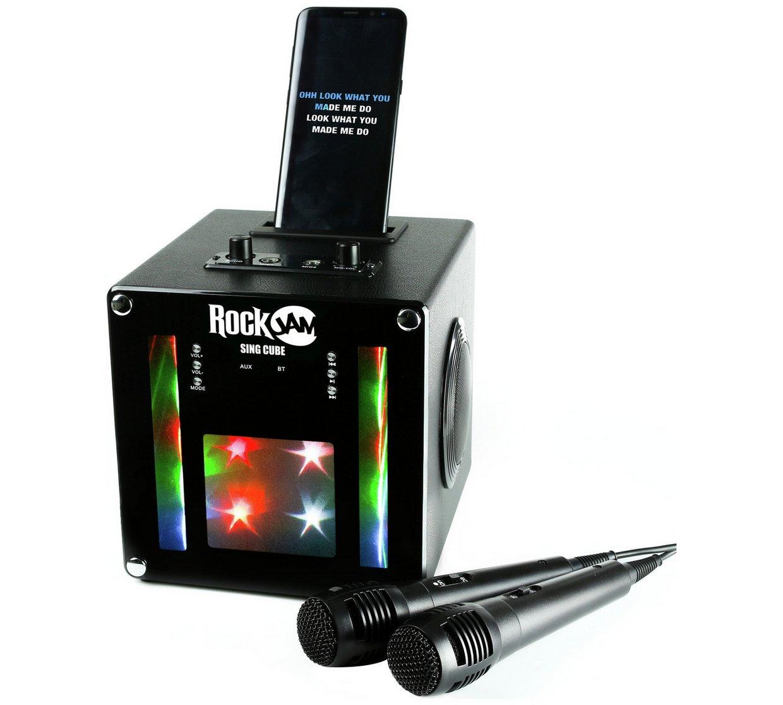RockJam SingCube Bluetooth Karaoke Machine