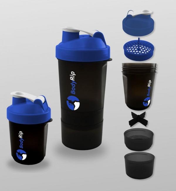 BodyRip 400-500Ml Protein Mixer Shaker Bottle Cup