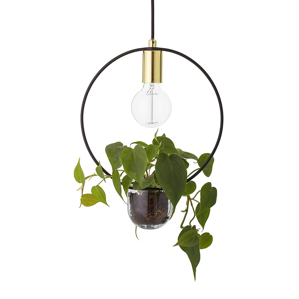 Pendant Lamp with Plant Holder - BLOOMINGVILLEOne of my faves out of all of the designs is this bad boy; bringing modern scandi vibes with its gold head and inclusive plant pot.£85