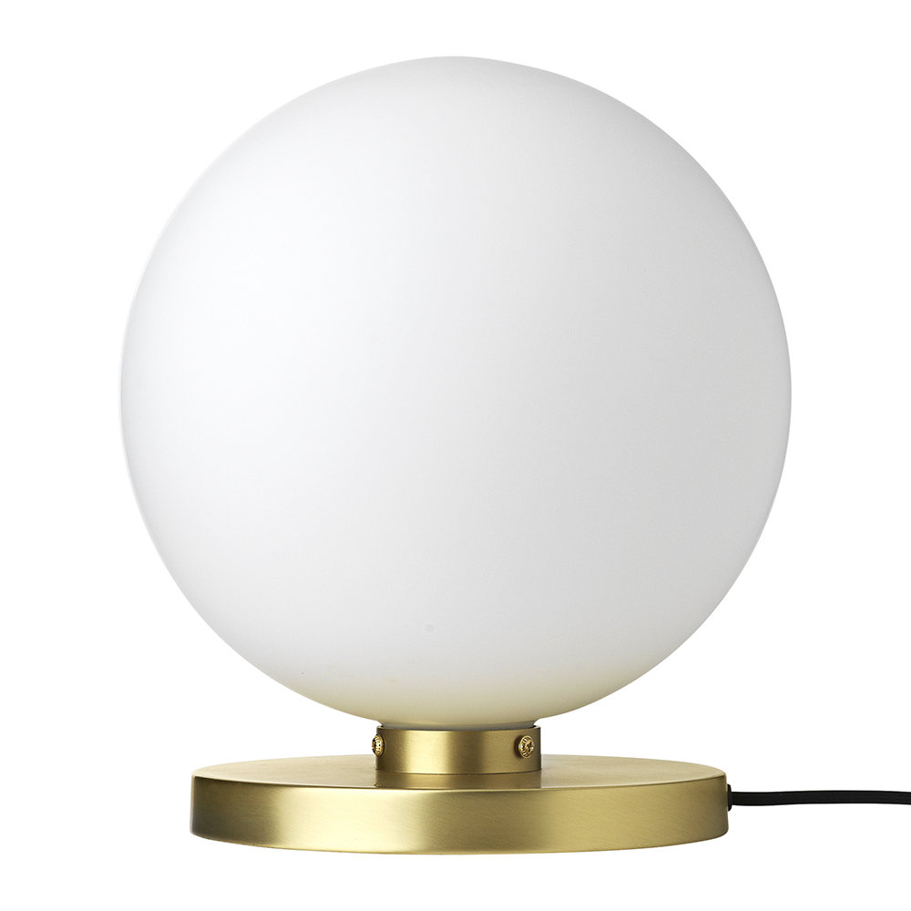 * SAVE * - Caspa Table Lamp - BROSTE COPENHAGENCrafted from metal and glass, this table lamp features a glowing orb design and is available in two stylish finishes. £106 from £212