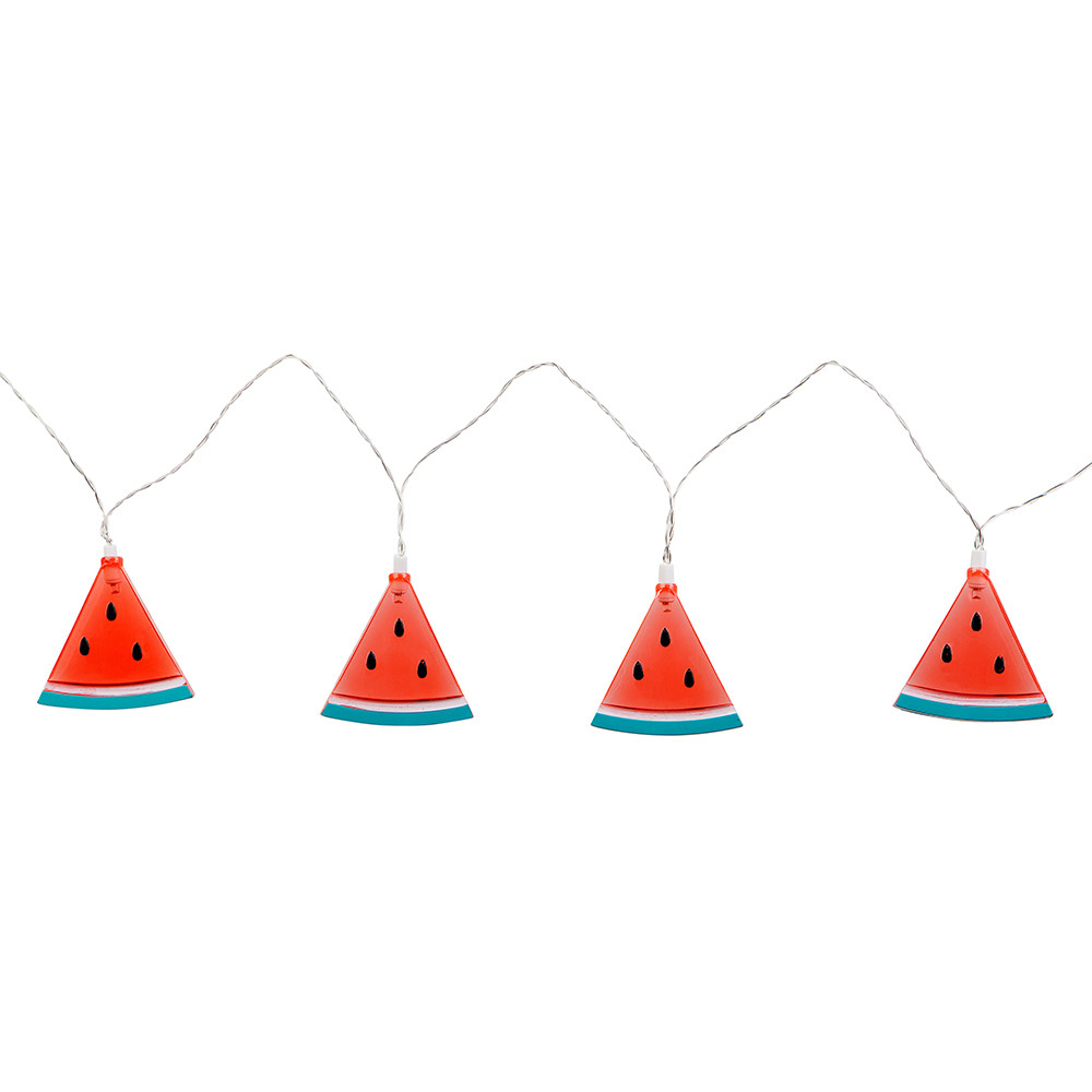 WATERMELON STRING LIGHTS - SUNNYLIFEAlso a part of the SunnyLife string light collection are the watermelon design. Requires 3x AA batteries.£22