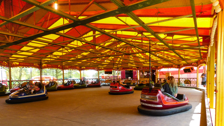 The Dodgems are one of my favourite funfair rides ever because they can just make anyone feel good right!?