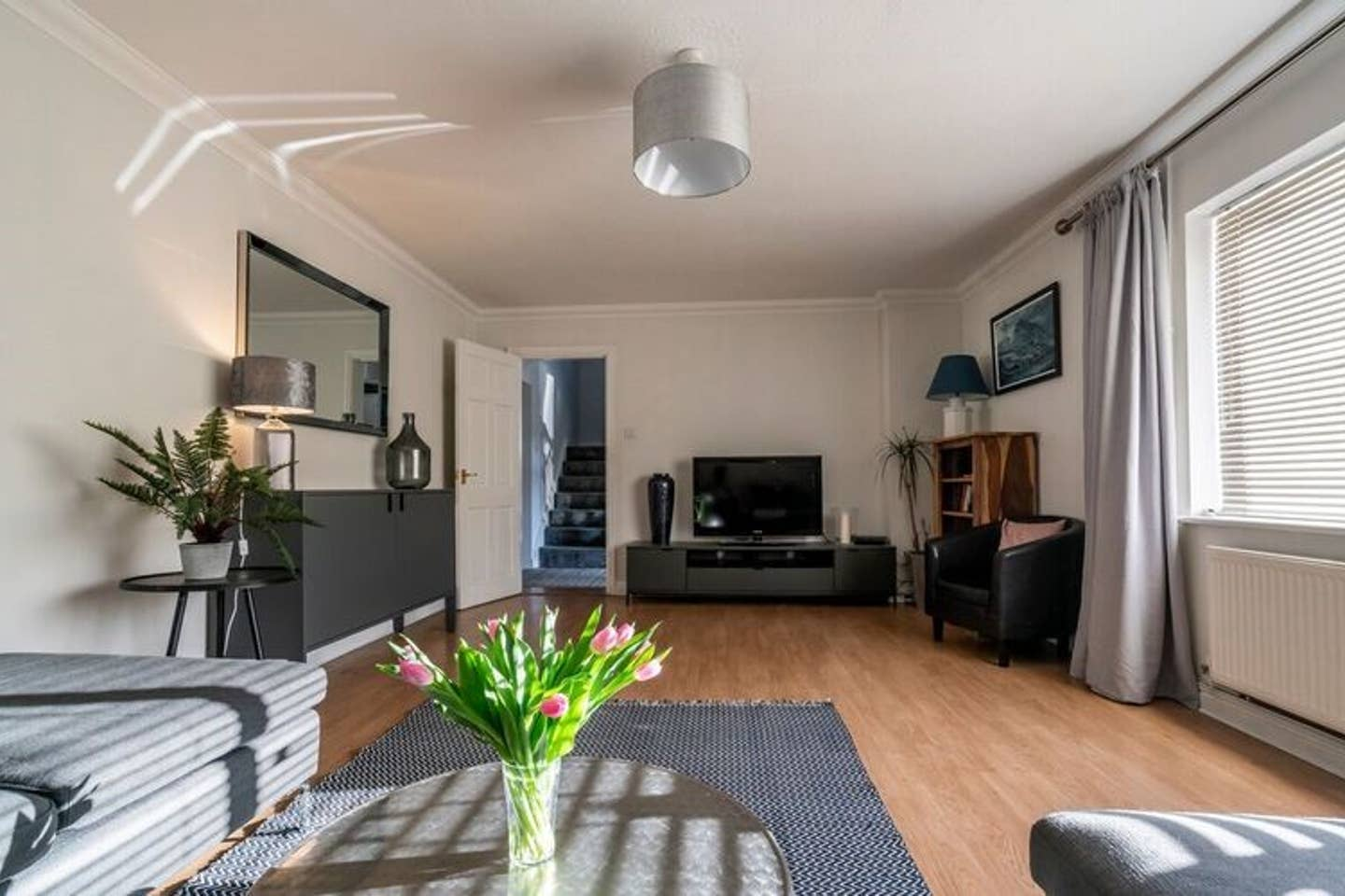The Slate Lodge - Modern 3 Bedroom House, located in the village of Tal y Bont approx. 2 miles from the city centre of Bangor.