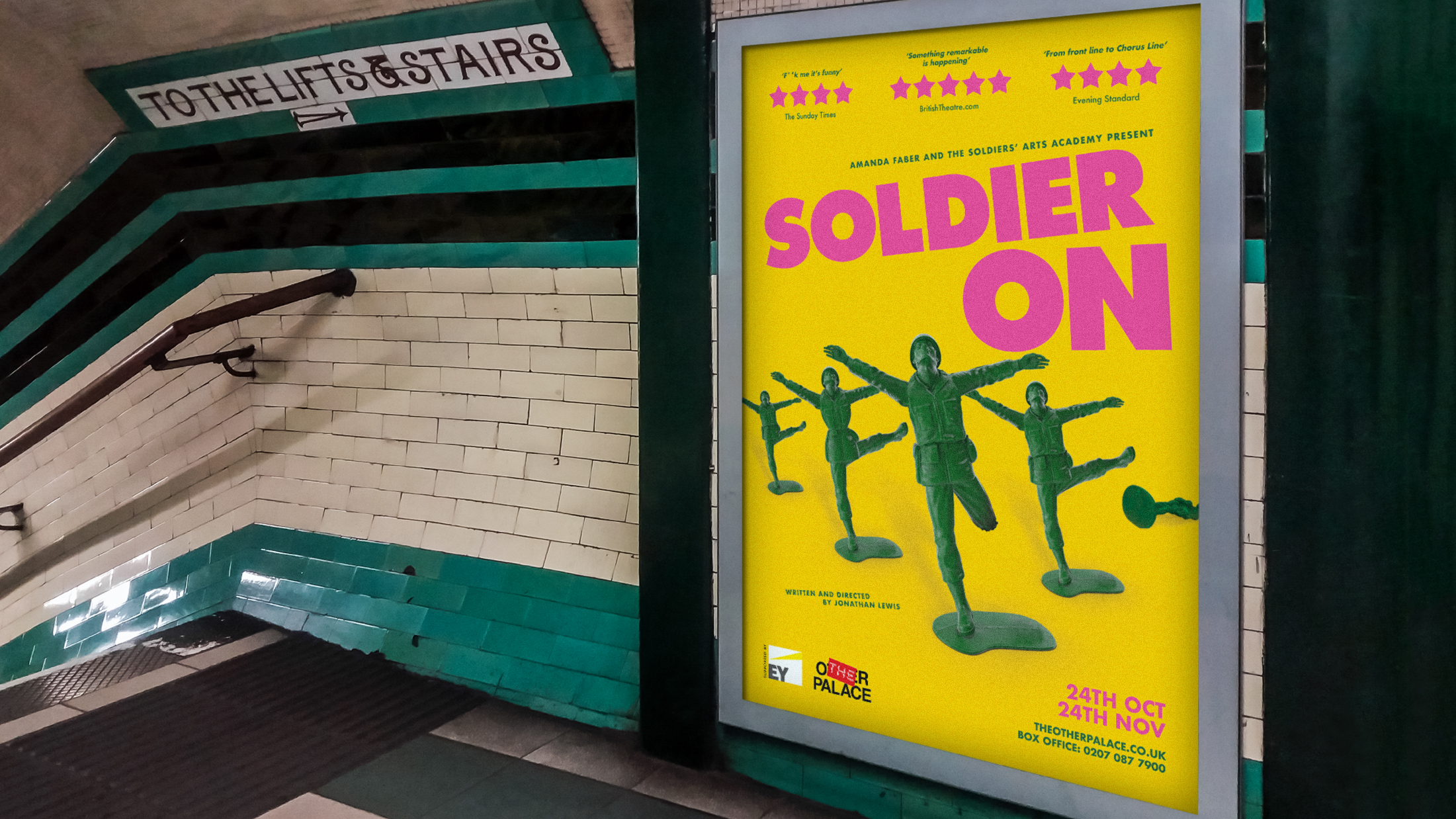A heart-warming play from the Soldiers' Arts Academy about surviving PTSD and what happens when you leave the military.