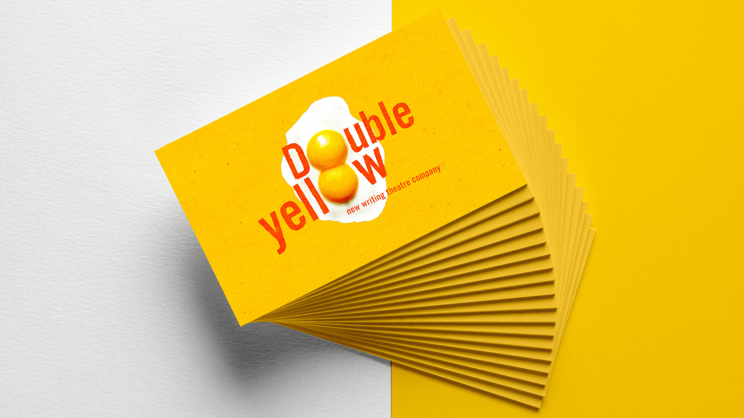 Branding for Double Yellow - a new all-female theatre and production company.