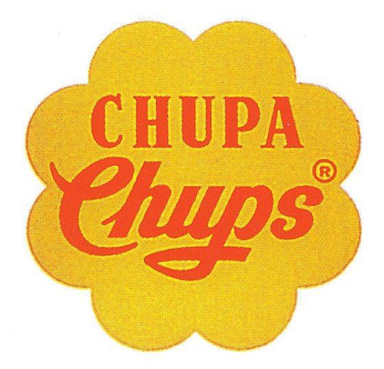 Chupa Chups logo, 1969, Salvador Dalí (1904–1989)