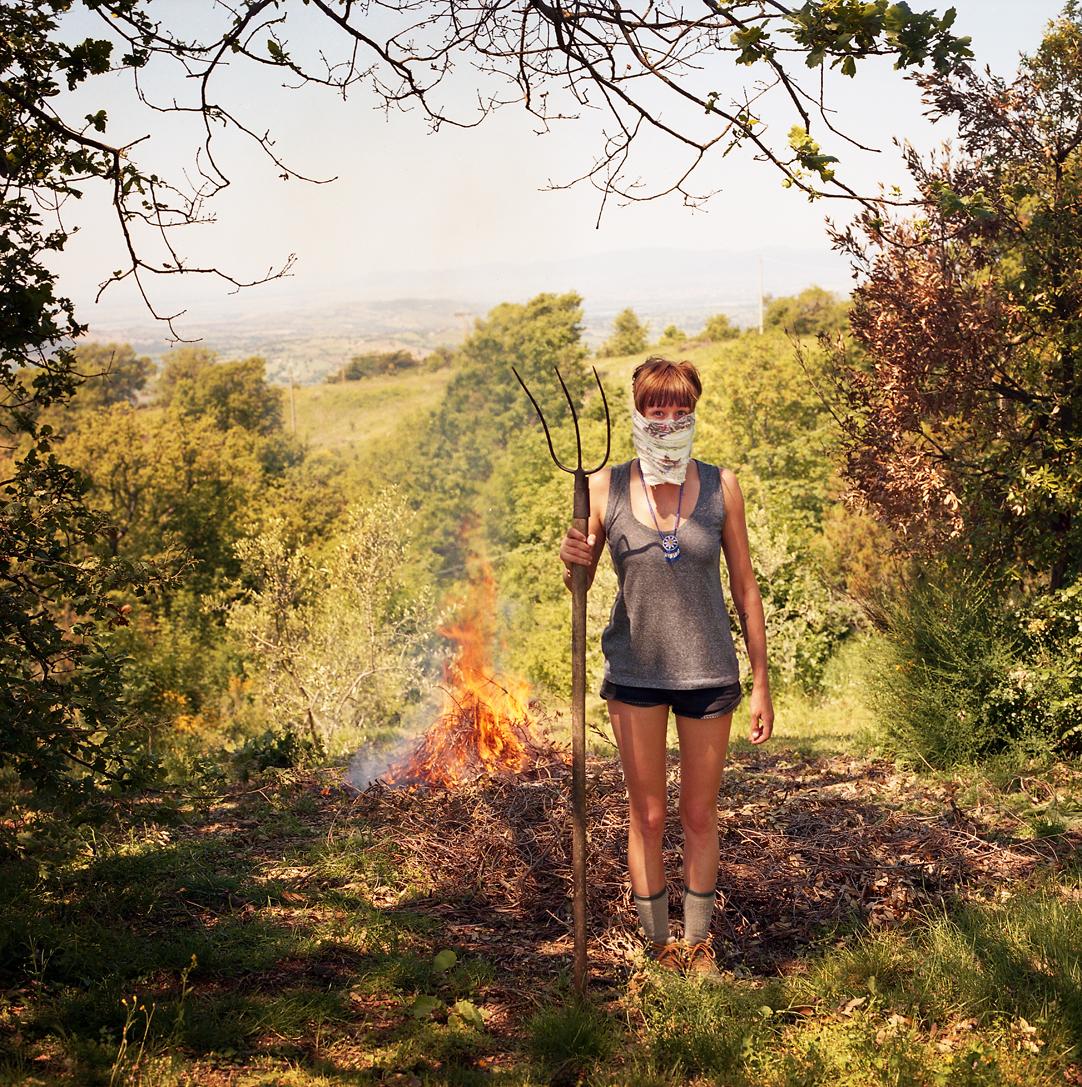 Burning brush is no joke.
