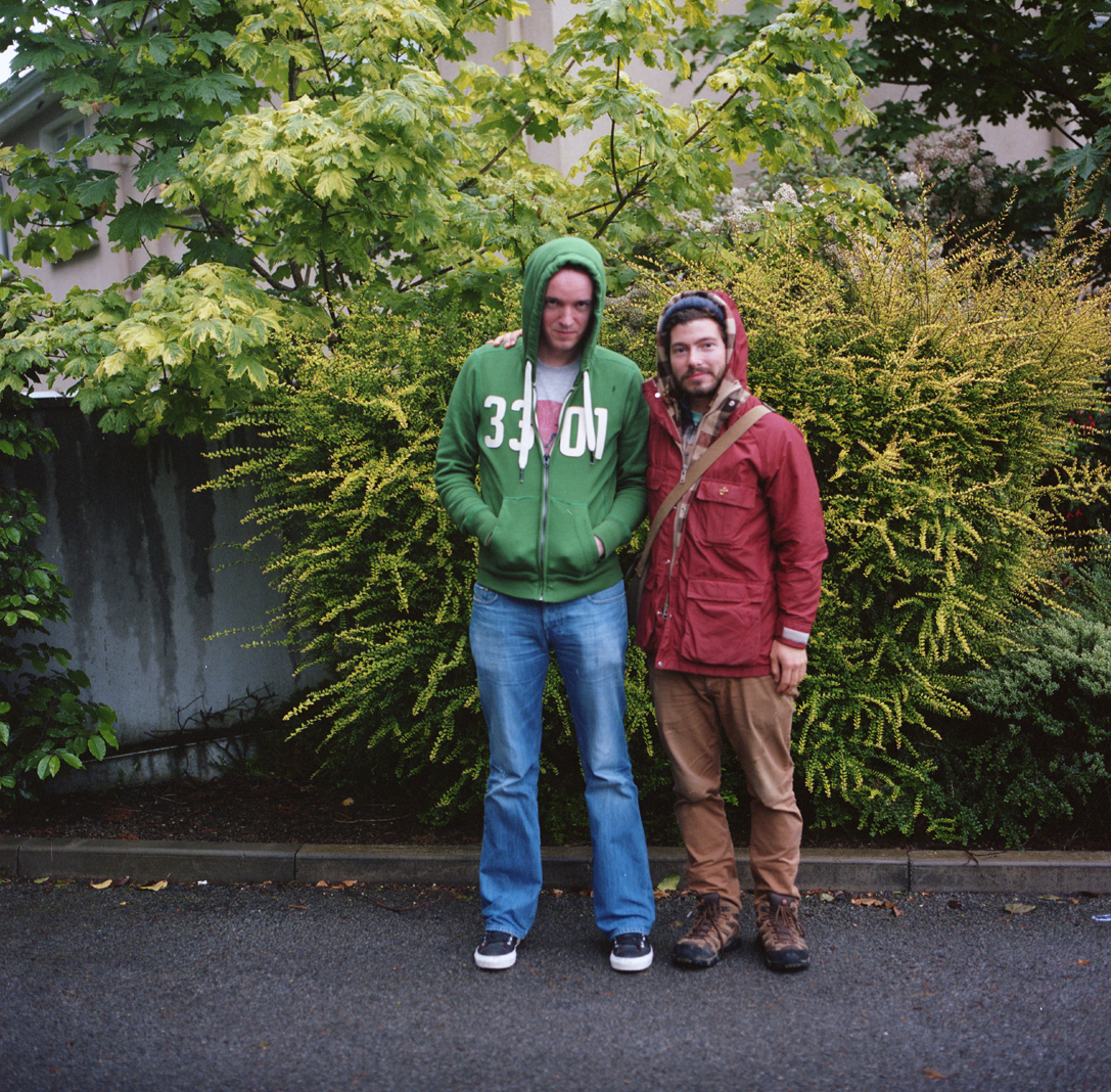 John and his cousin Keiran in Galway. I was always told the Irish were stout people.