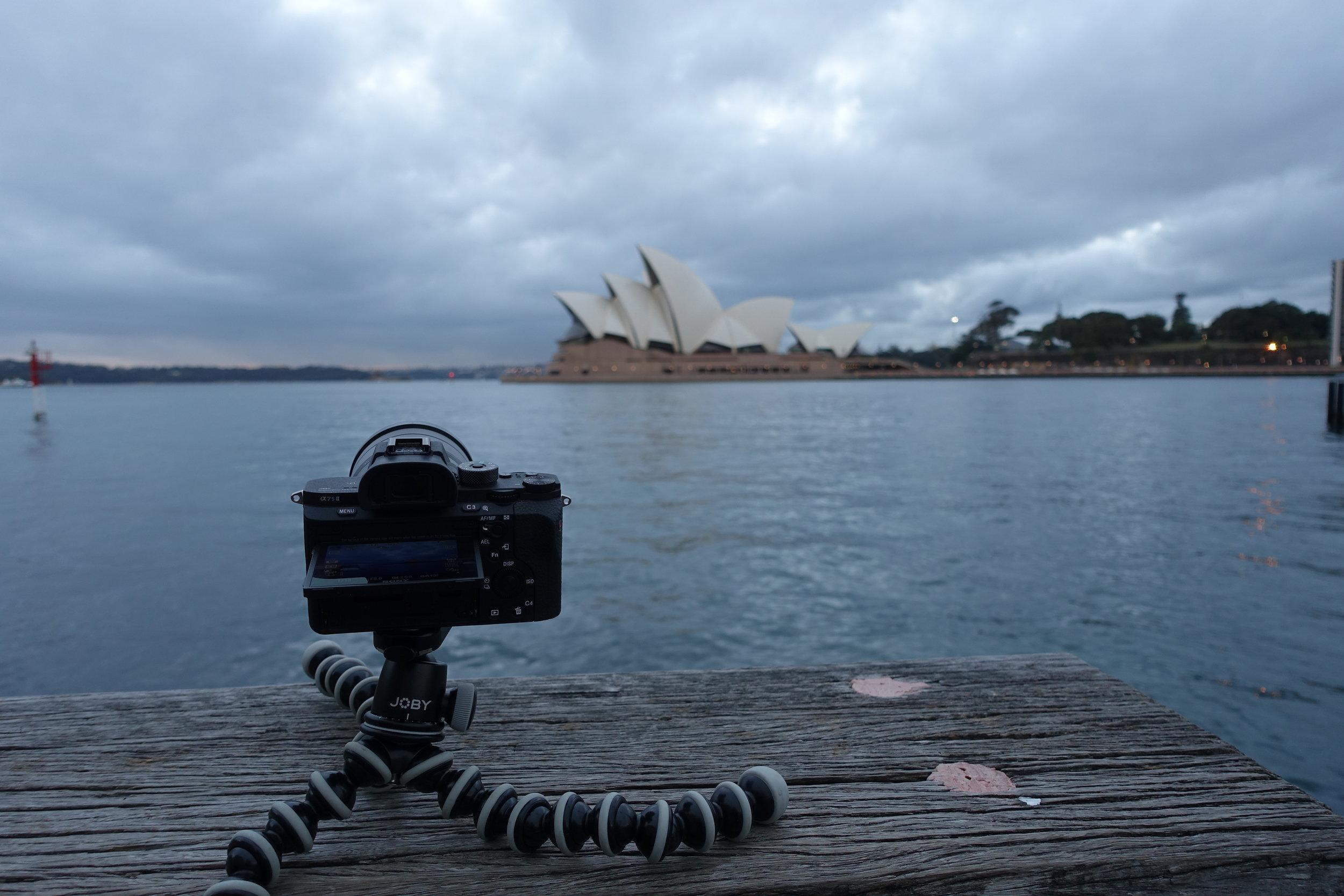 Time-lapse of Sydney Harbour bridge