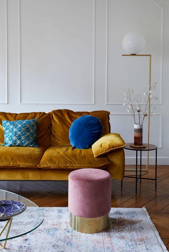 Parisian apartment. Image Source:  Cup of Jo