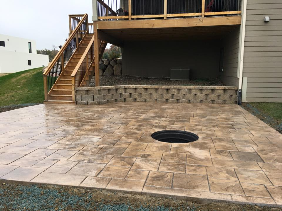 Gallery I 80 Stamped Concrete