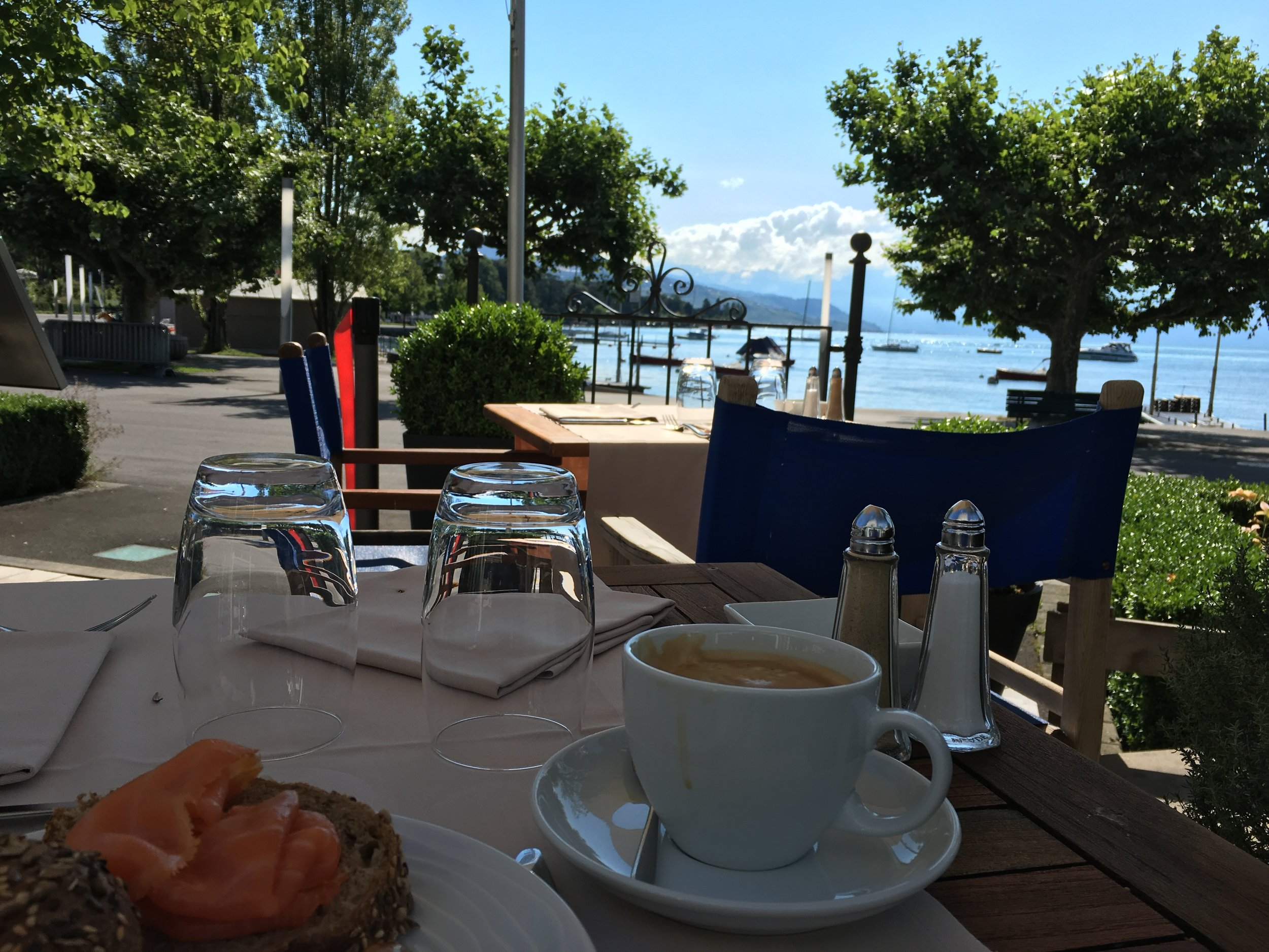 What a nice place to have breakfast