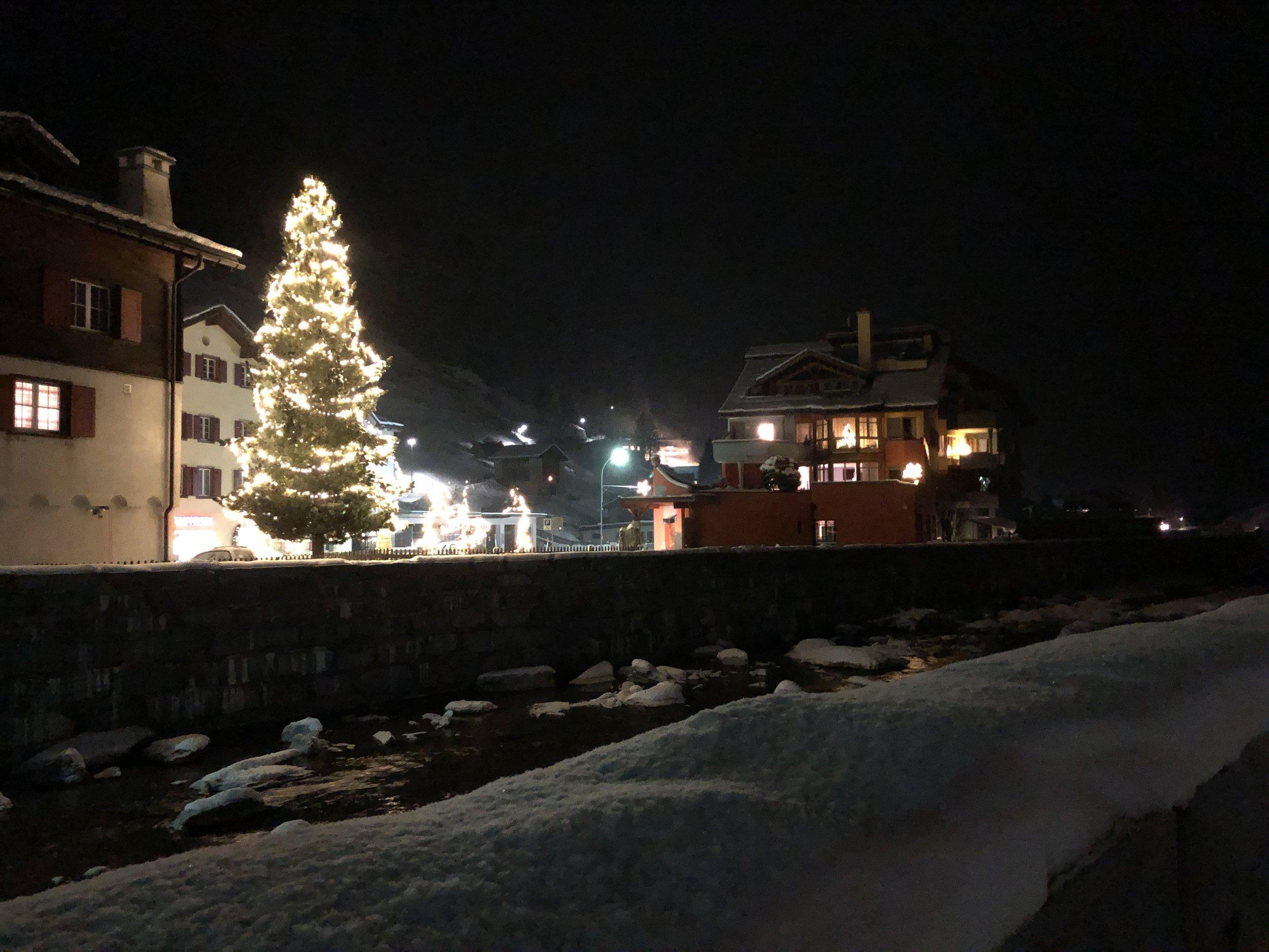 Good night in Vals