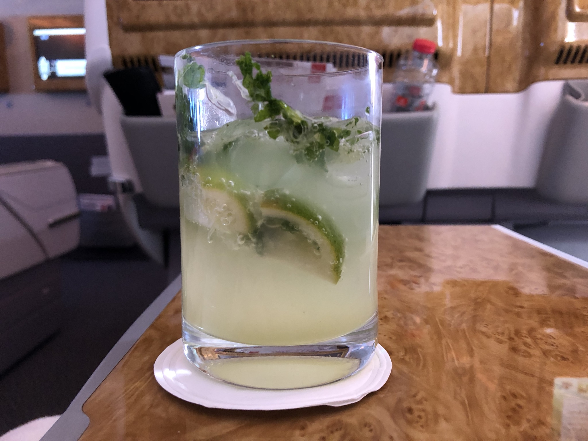 Caipirinha without alcohol (it was early morning, you see)