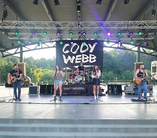 Thanks @codywebbcountry for inviting us to hang with you @innovationamphitheater this weekend! Winder, GA we will be back soon! #codywebb #rebelunion #innovationampitheater #winderga #outdoormusic #windergeorgia