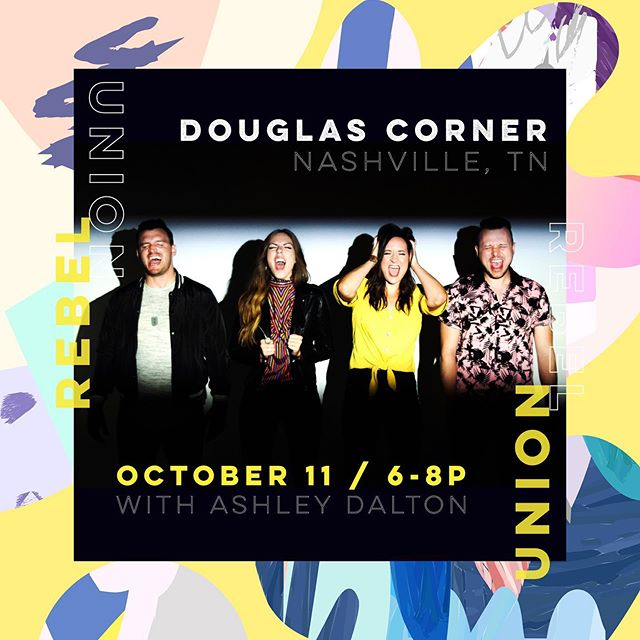 SO excited to play at home in Nashville we want to scream. This Friday, 6-8p at @douglascornercafe with our girl @ashleydaltonmusic Better get tickets now, so you don't have #FOMO later. Ticket link in bio.