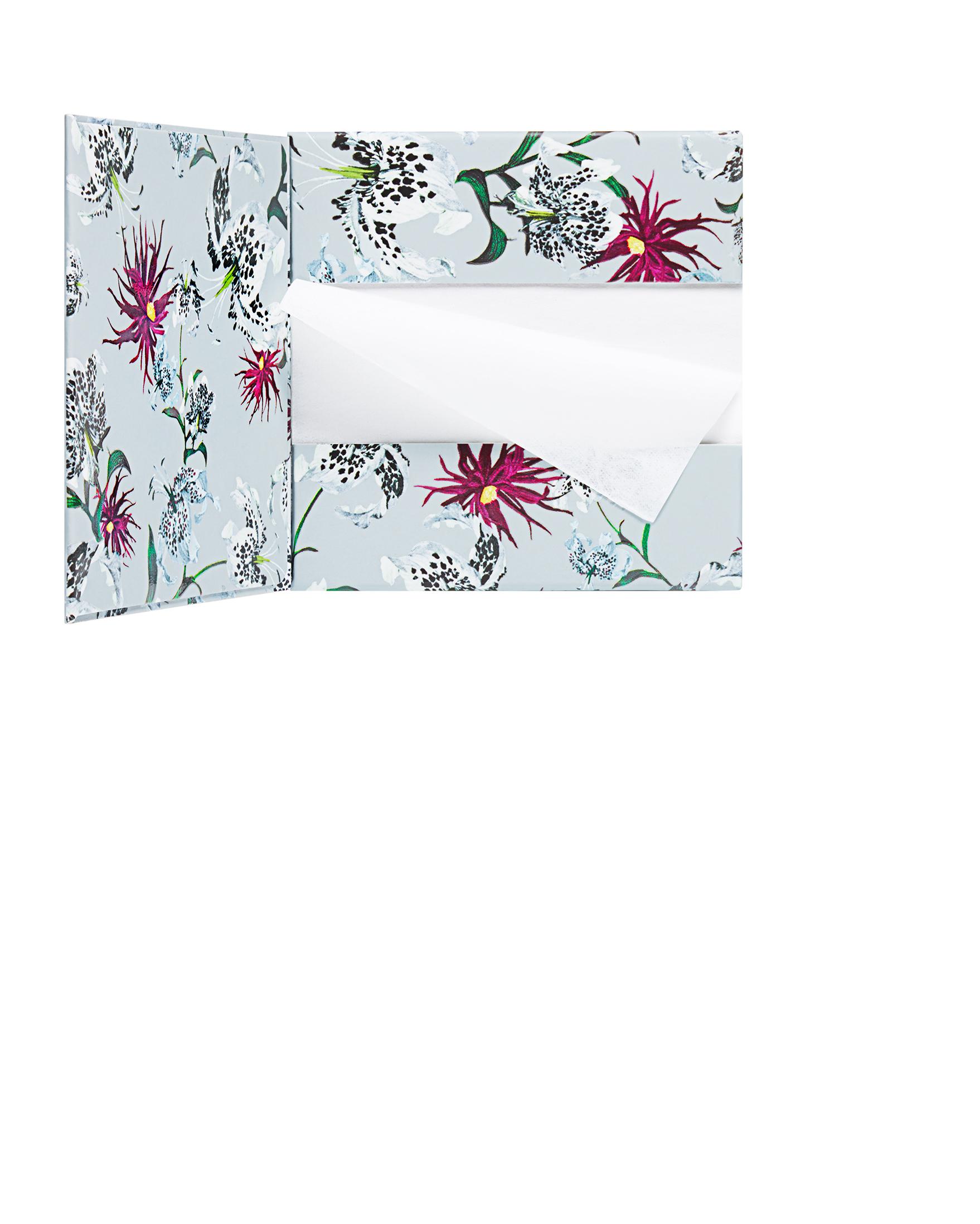 Erdem for NARS Strange Flowers Collection - Mattifying Blotting Paper Open.jpg