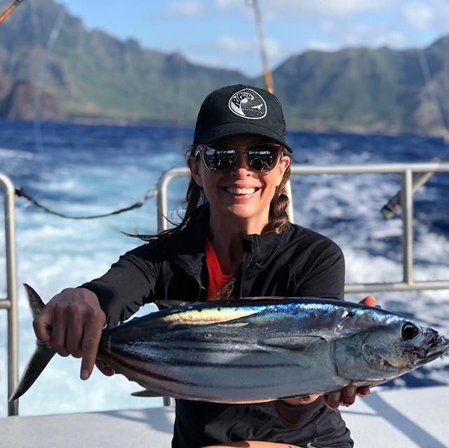 Nice Skipjack off Kauai! #hawaiifishing #pnwfishing