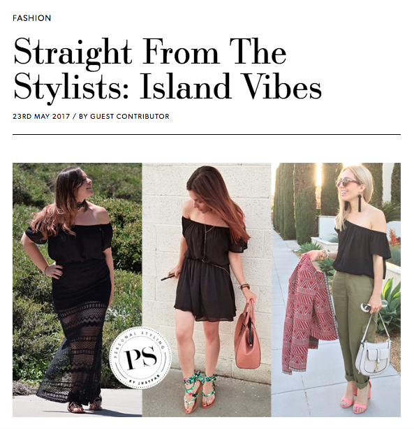 The Style Edit Blog Feature