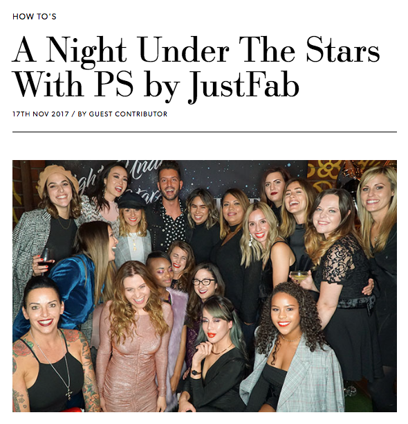 JustFab Event Blog Feature