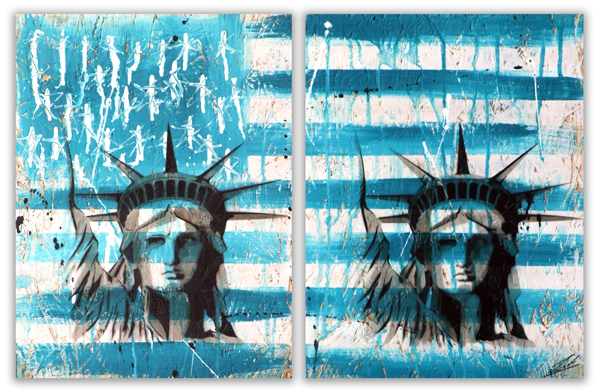 Liberty Diptych