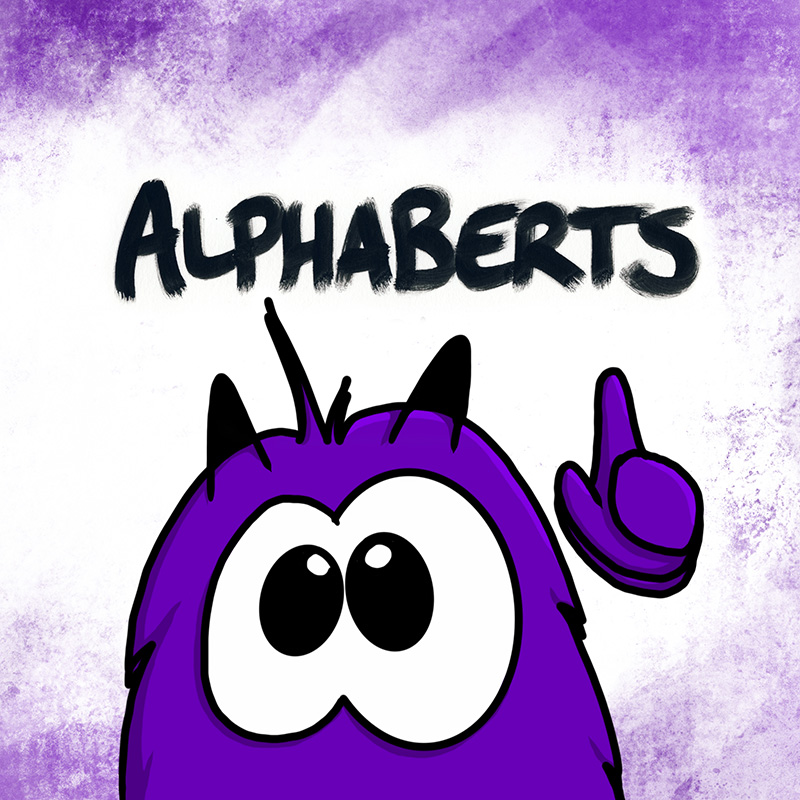 Bert alphaBerts revised edition illustrated alphabet book