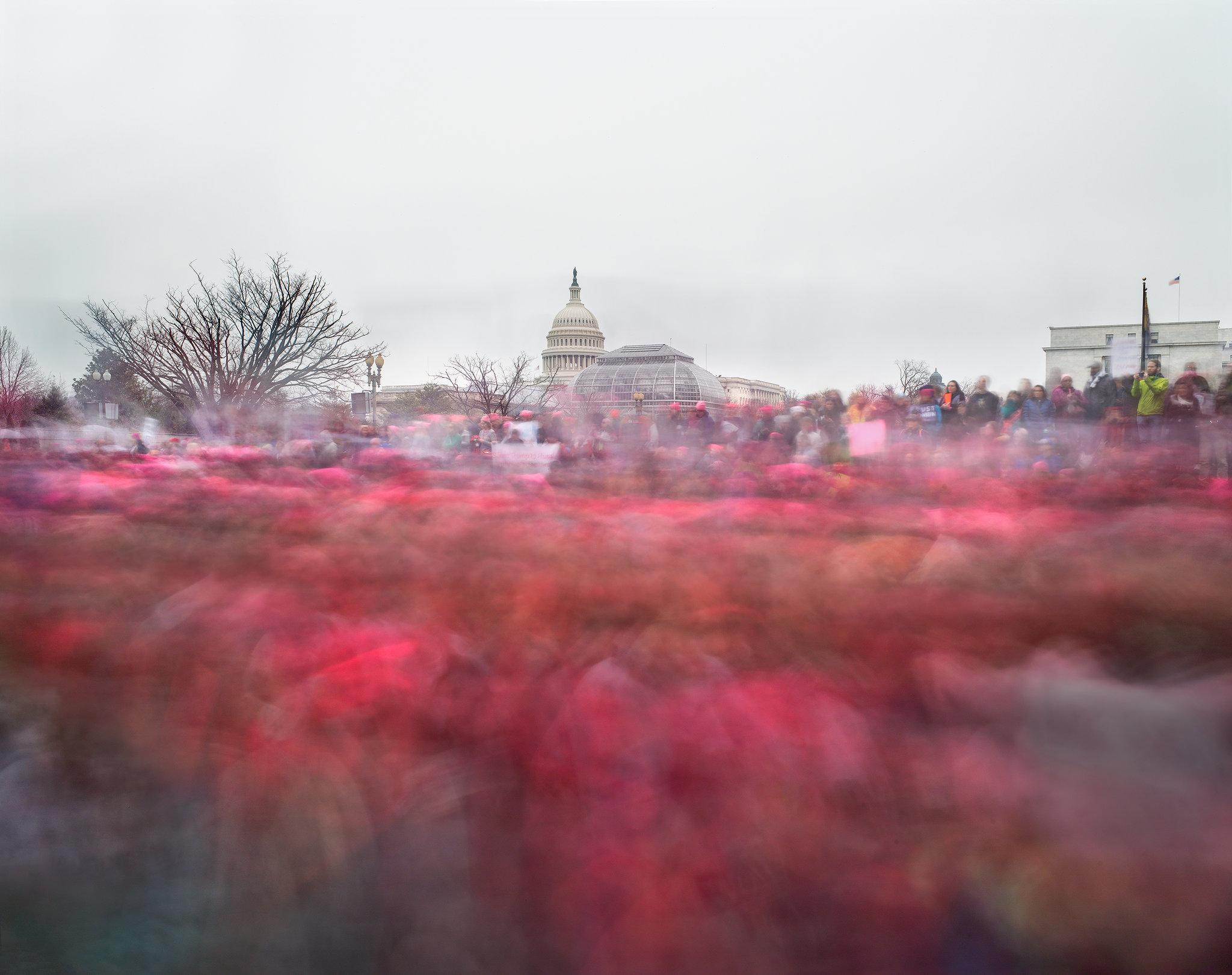 Women's March on Washington, Jan. 21, 2017.Credit: Matthew Pillsbury for The New York Times