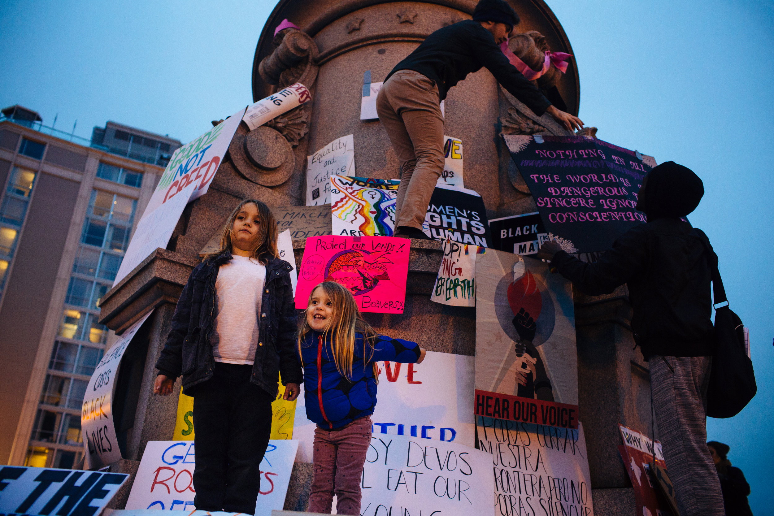 The Women's March on Washington, Jan. 21, 2017.Photo Credit: Sara Naomi Lewkowicz