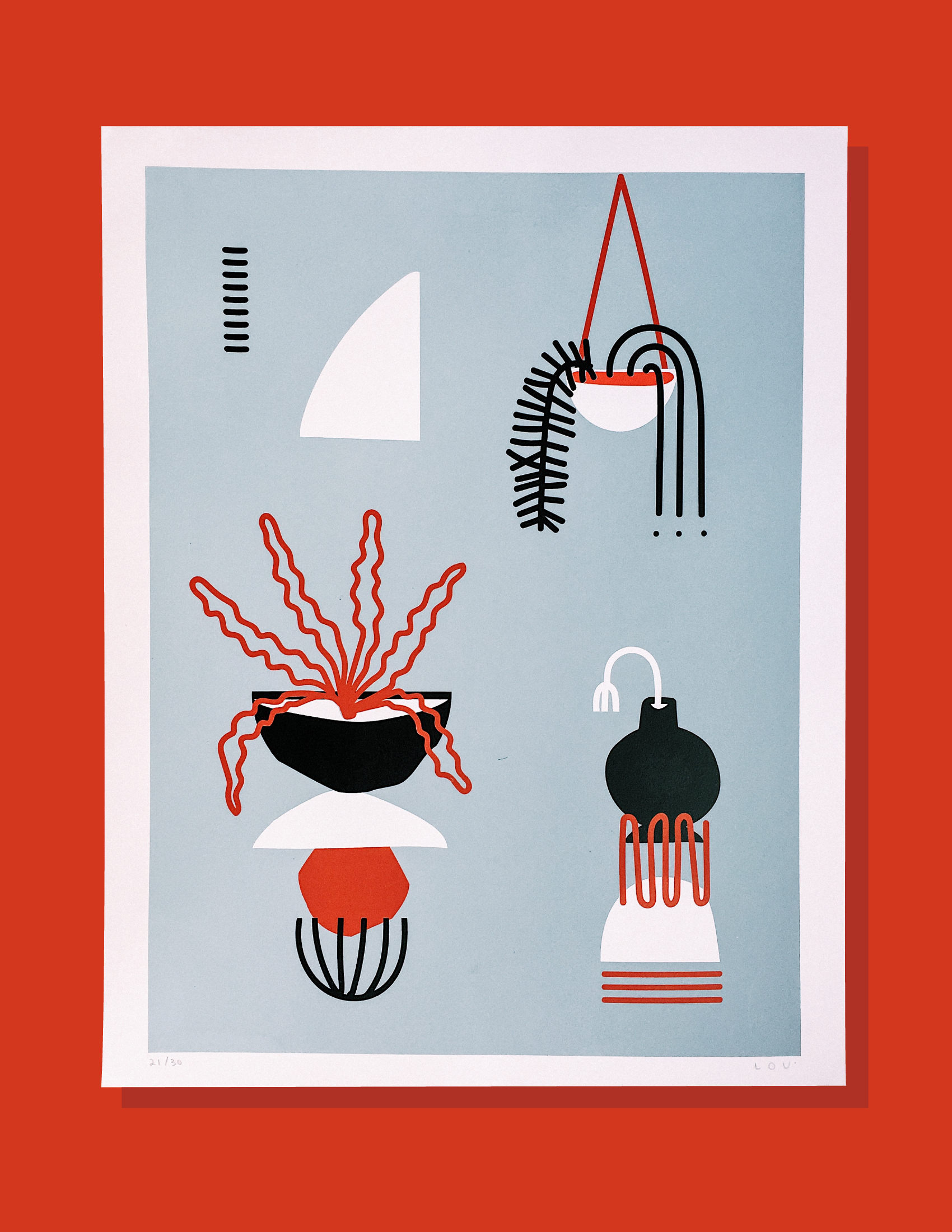 Partnered with Ello to give away 3 'Domingo' Prints - Visit me on Ello to find out more.