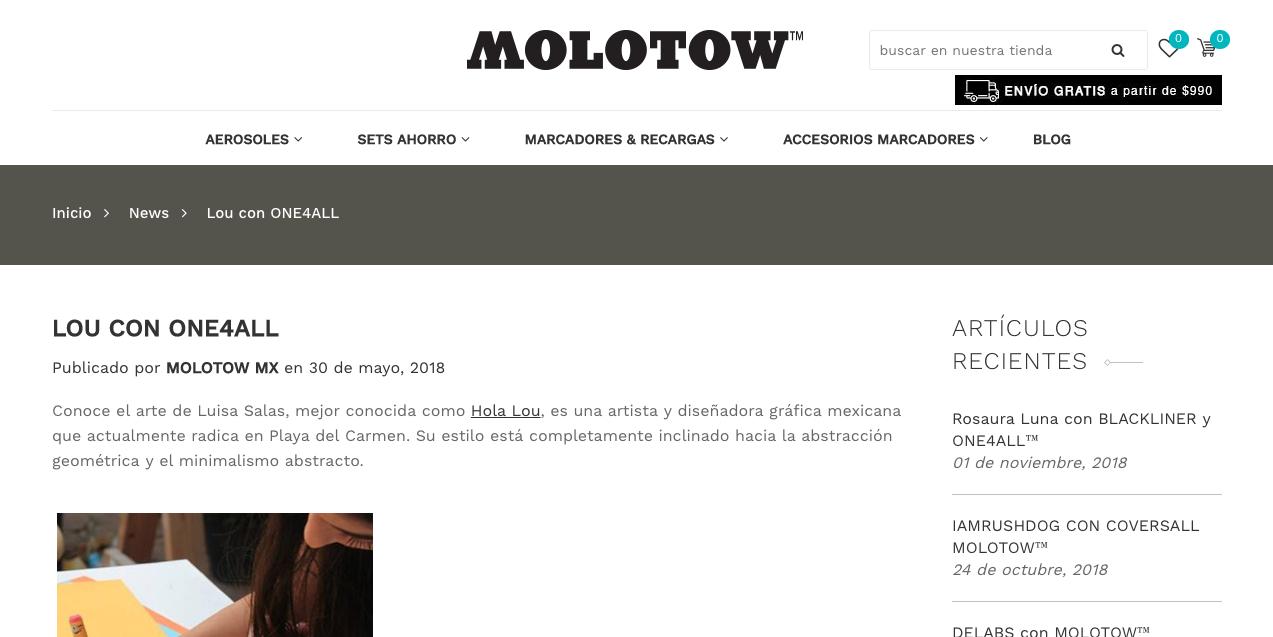 Molotow Mx