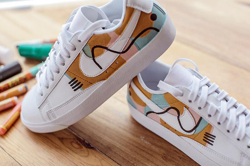 Nike Blazer + Malvestida