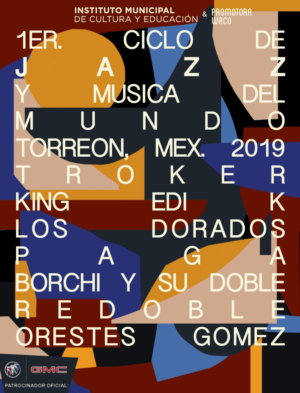 1er Ciclo de Jazz: Set of posters