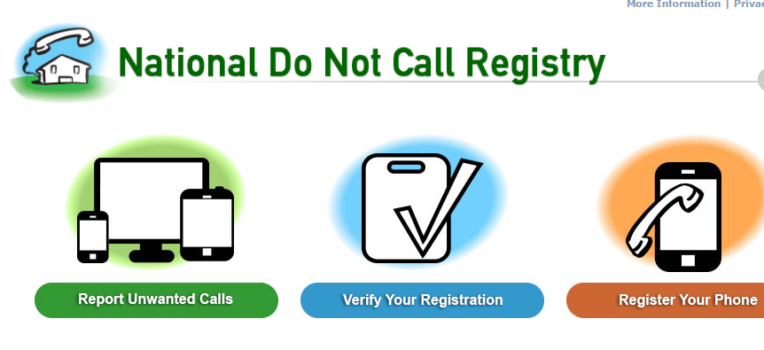 ALERT!  Someone pretending to be from the FTC is sending out fake emails telling people that their Do Not Call registration is expiring.    Registrations never expire . Once you add a number to the Do Not Call Registry, you do not need to register it again.  https://www.consumer.ftc.gov/blog/2018/01/do-not-call-registrations-dont-expire
