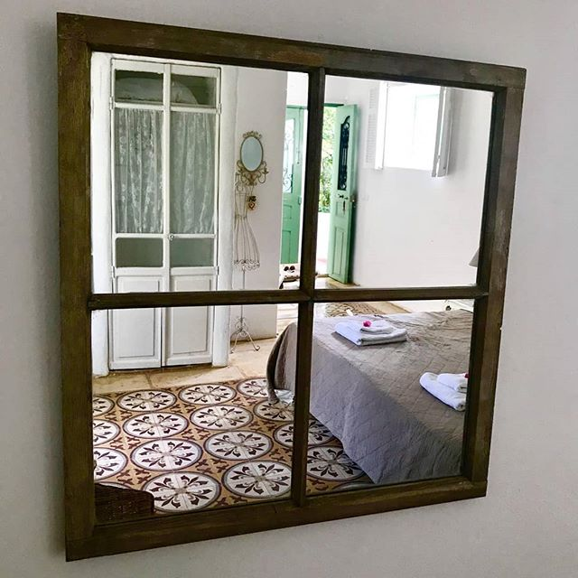 Ariché room through its mirror. 📷: Giulia's family