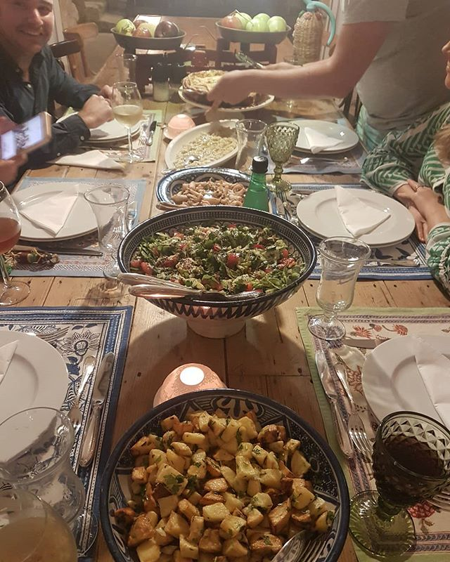 And another dinner at Beit Al Batroun.