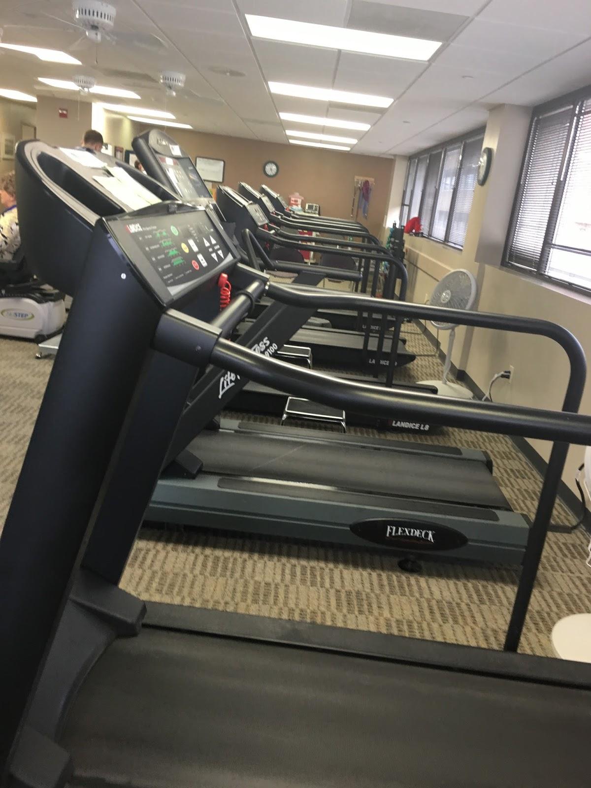 Bring on the treadmills!! I'm ready!