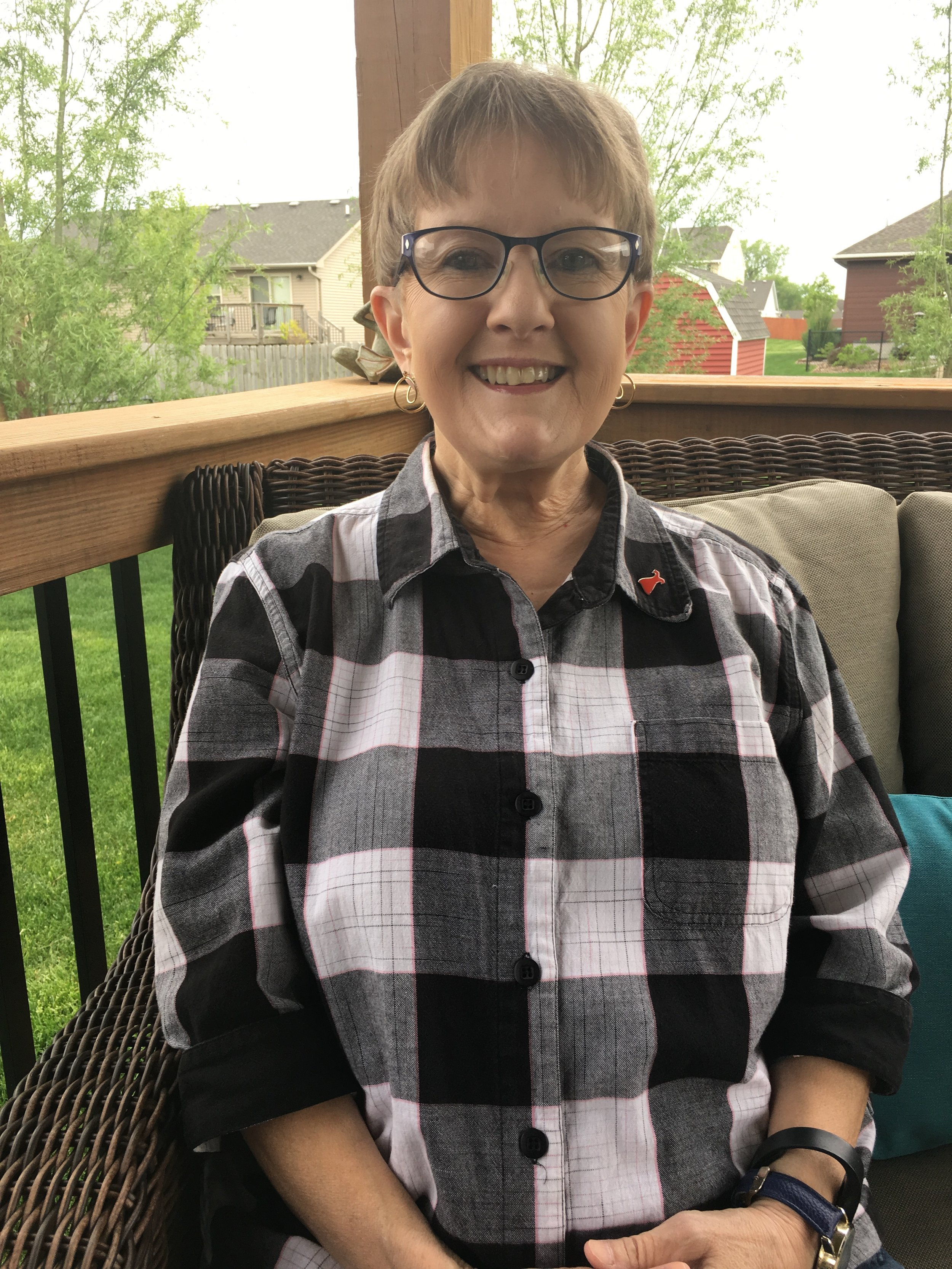 After surviving a heart attack during a valve repair surgery and stroke post-operative Aunt Trish at the young age of 66 is the most positive survivor you will ever talk with.